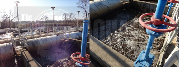 This oxidation ditch has low F:M and uses our VitaStim Low F:M to reduce filaments, improve settling and clarify the effluent.