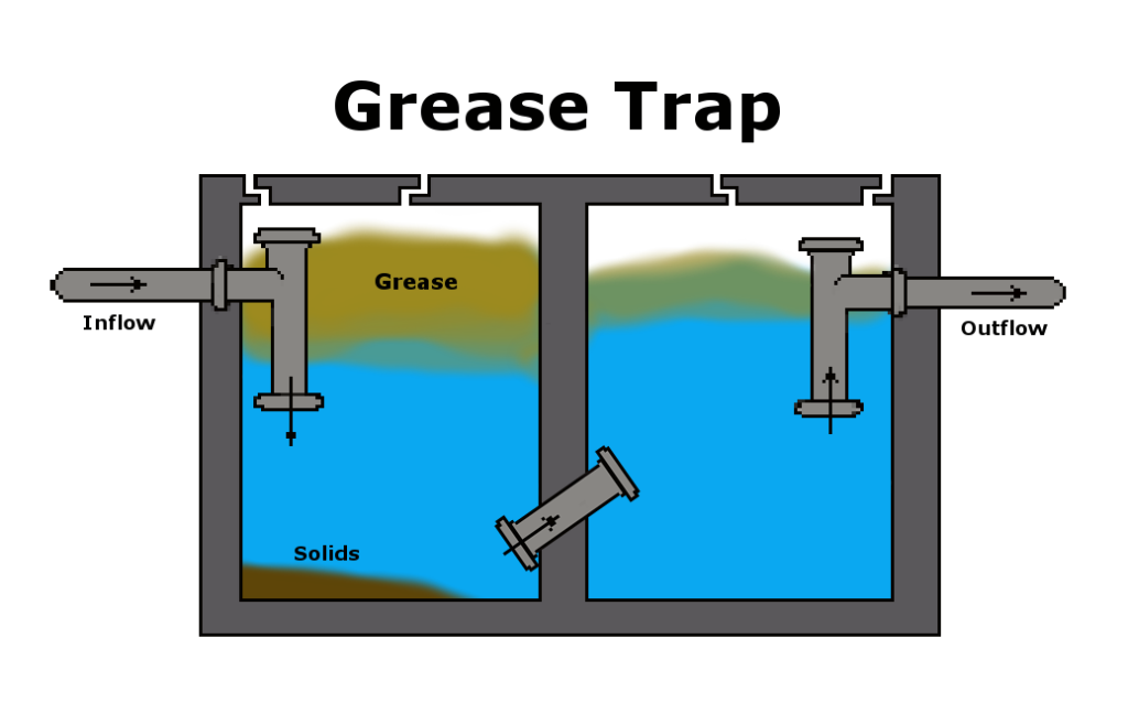 Bioaugmentation in grease traps
