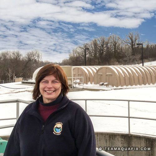 2017's Inspiring Woman of Wastewater: Annetta