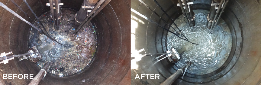 Grease Removal & Control in Wet Well