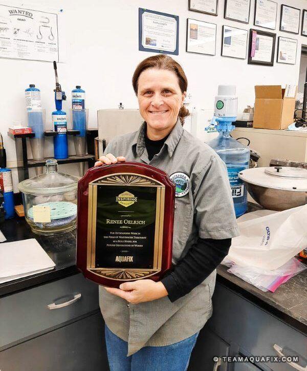 Renee- women of wastewater winer